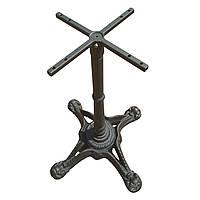 Основание из чугуна Сен Тропе.  Опора для стола, база, основа для стола, подстолье.