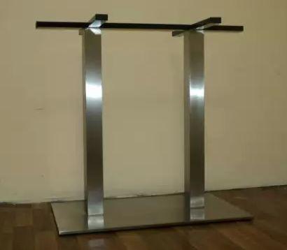 Основание из нержавейки для прямоугольного стола Е/30