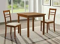 Комплект деревянной мебели Тодес. Стол и 2 стула.