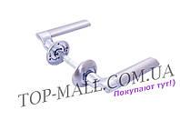 Ручка на розетке FZB - Sofia C75Q15 SN/CP
