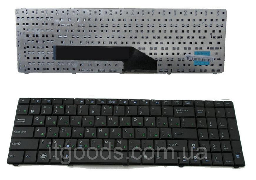 Клавиатура для ноутбука Asus F52 F90 K50 K51 K60 K61 K62 K70 K71 P50 X