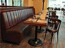 Диван для кафе Гранд на ніжках. Серія стандарт, фото 2
