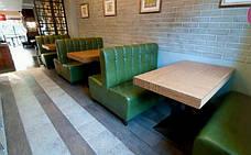 Диван для кафе Гранд на ніжках. Серія стандарт, фото 3
