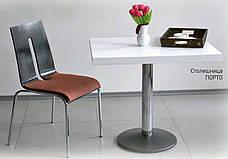 Стільниця квадратна з МДФ шпонована Порто 60х60., фото 2