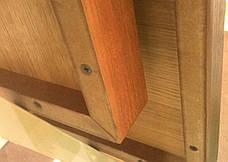 Стільниця квадратна з МДФ шпонована Порто 60х60., фото 3