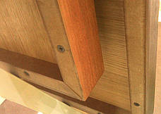 Столешница шпонированная Порто 70х70. Квадратная столешница., фото 3