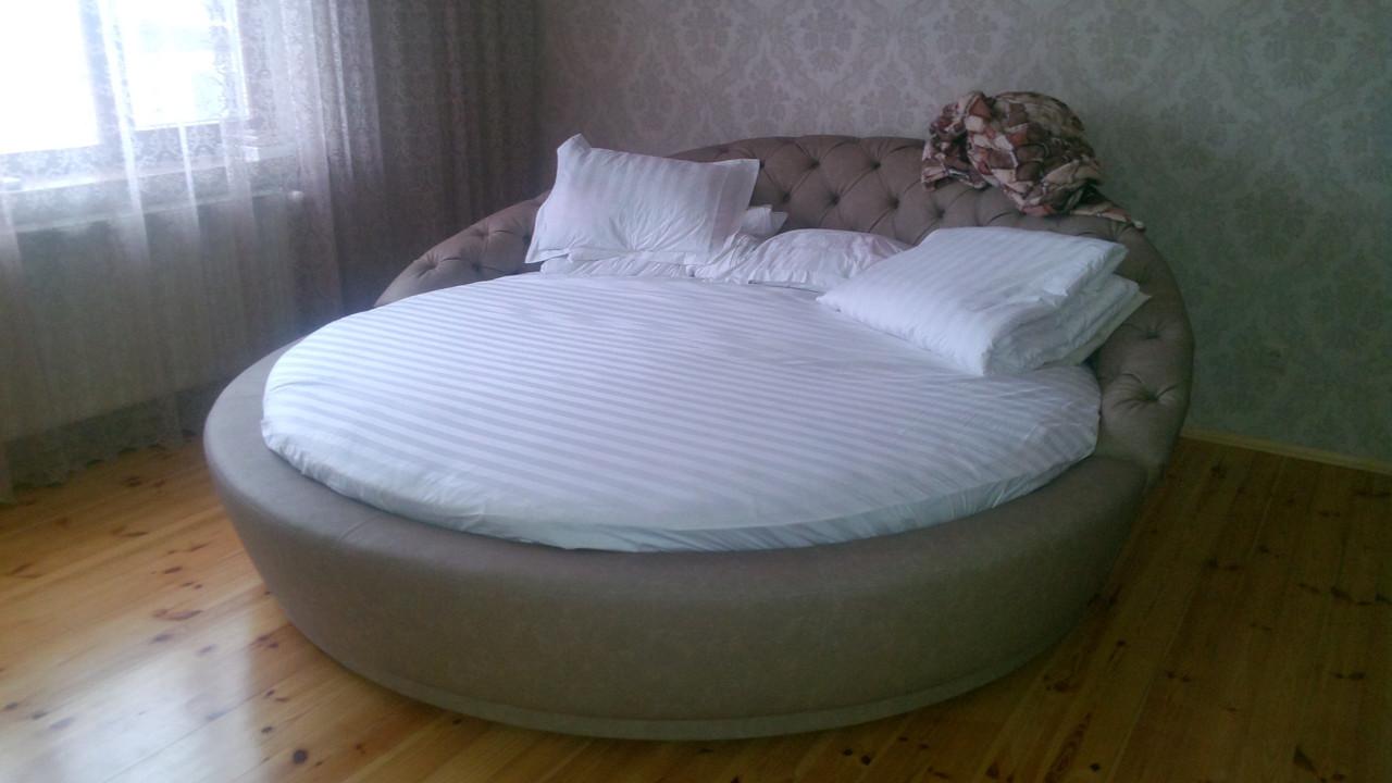 Круглая кровать Инесса. Круглые кровати под заказ в Киеве.
