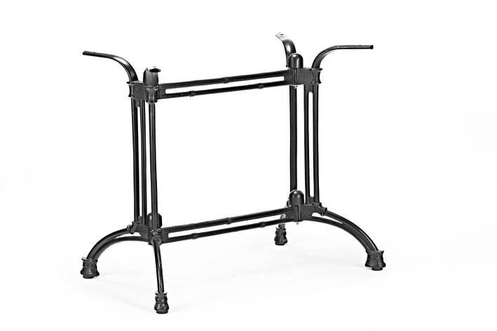 База для прямоугольного или овального стола из чугуна Ray Double ( Рэй Дабл ) н 72 см., фото 2