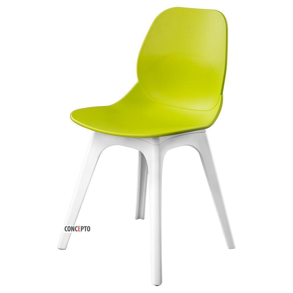 Apple (Эпл) Concepto cтул пластиковый светло-зелёный
