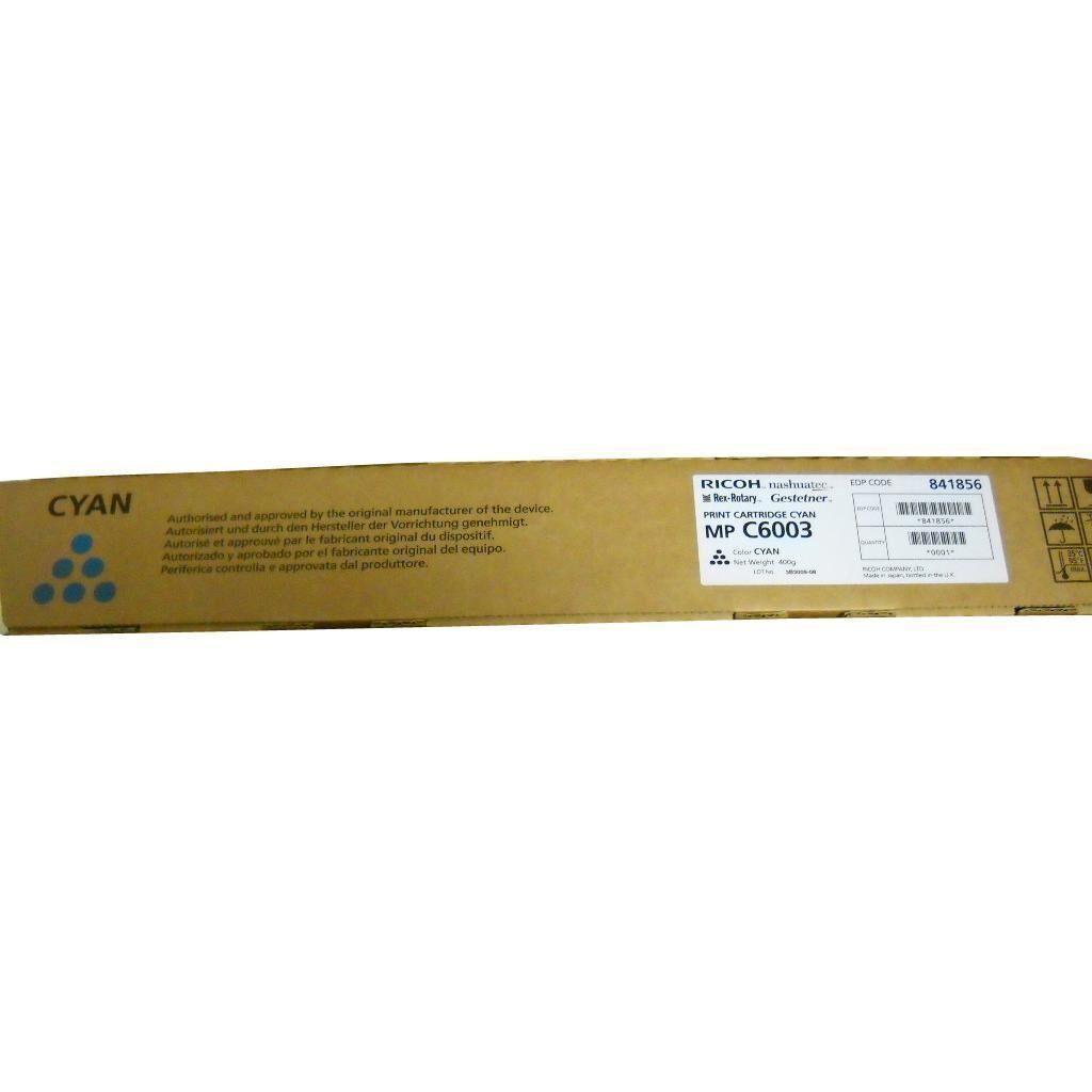 Тонер-картридж Ricoh MPC6003 CYAN 22.5К (841856)