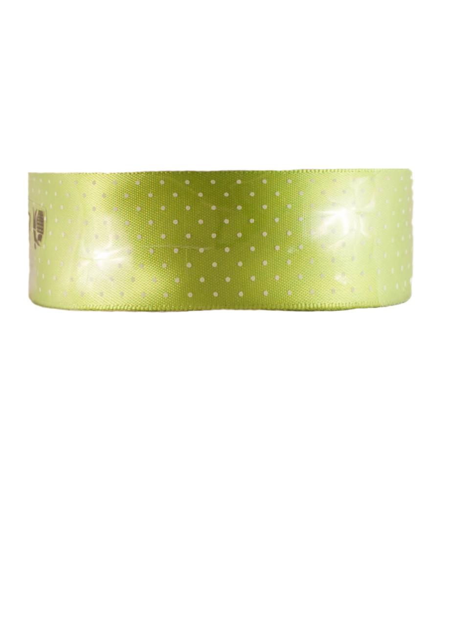 Декоративная лента зеленая Melinera 5м текстиль