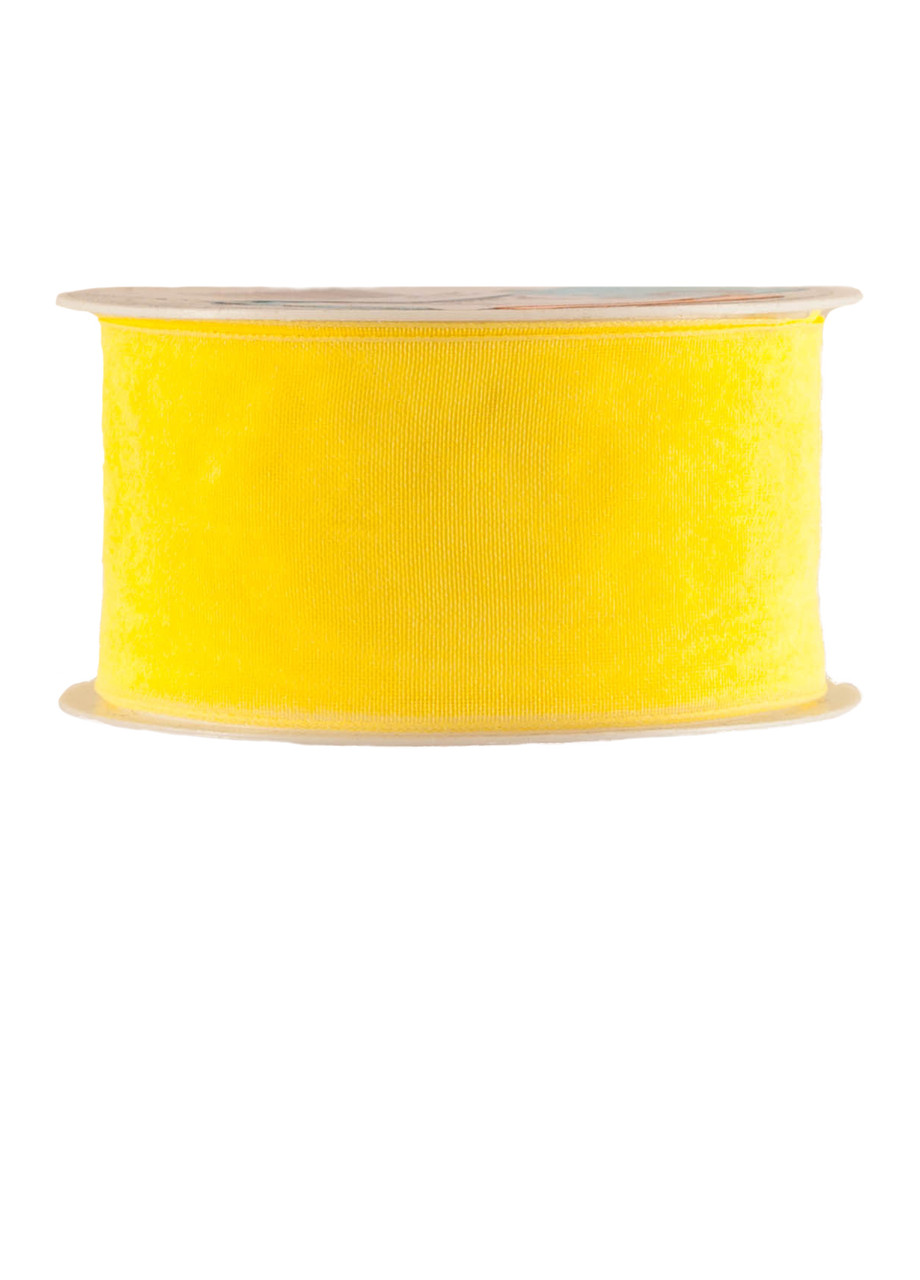Декоративная лента желтая Melinera 2м