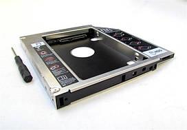 "Адаптер Grand-X для подключения HDD 2.5"" в отсек привода ноутбука SATA/SATA3 12.7мм (HDC-25N)"
