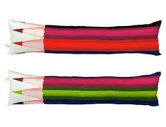 Одеяло Руно шерстяное полуторное 140x205 Сатин Облегченное 160г/м.кв (321.137ШК_Pencils), фото 3