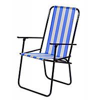 Кресло складное Time Eco Дачный (4820183480088BLUE)