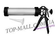 Пистолет для силикона Mastertool - тубус 225 мм х 420 мл
