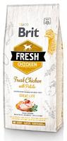 Сухой корм Brit Fresh Chicken/Potato Adult для взрослых собак всех пород 12