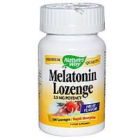Nature's Way, Леденцы мелатонина, 2.5 мг, 100 леденцов