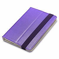 "Чехол для планшета AirOn Universal case Premium 7-8"" violet (4821784622092), фото 1"