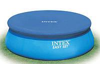 Тент защитный для надувного бассейна диаметром 366 см intex 28022 ri, кк hn