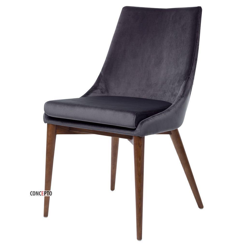 Brighton (Брайтон) Concepto стул мягкий серый графит