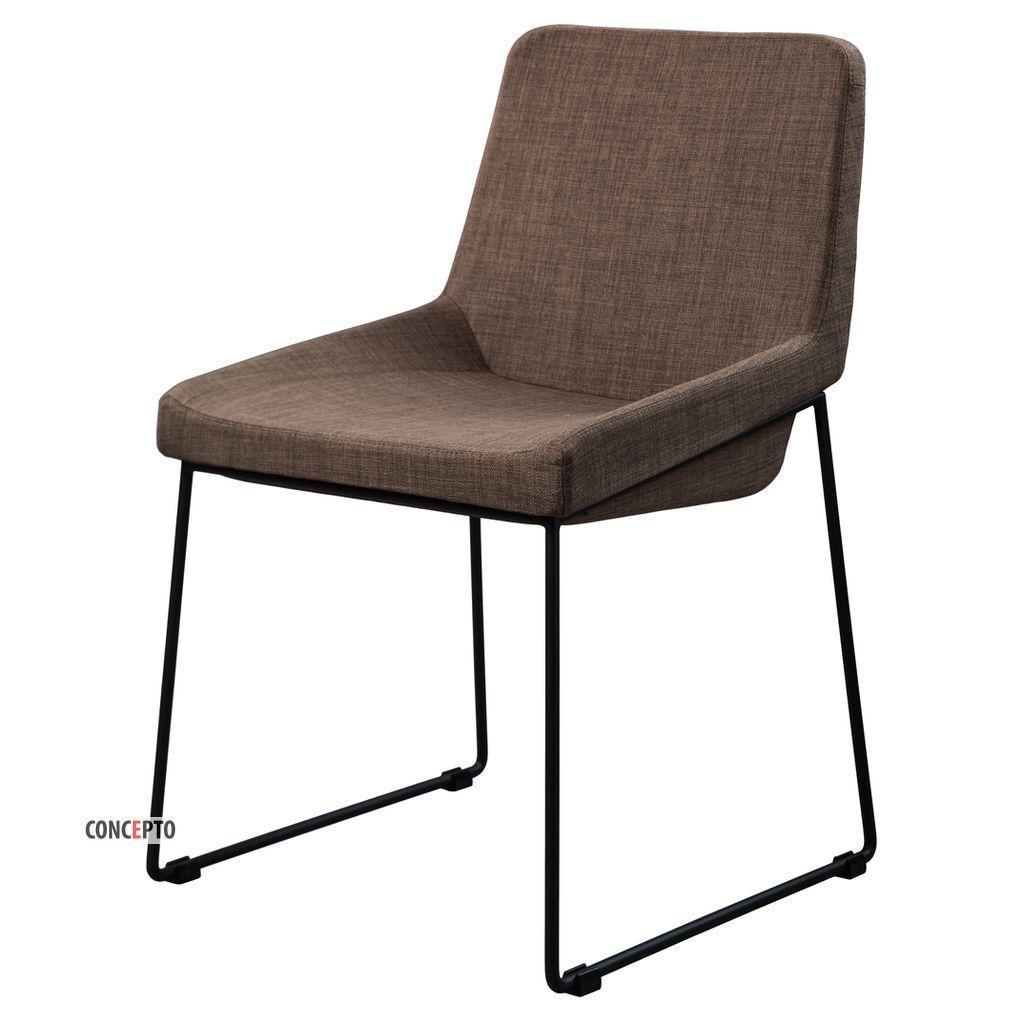 Comfy (Комфи) Concepto стул обеденный текстиль пепельно-коричневый, фото 1