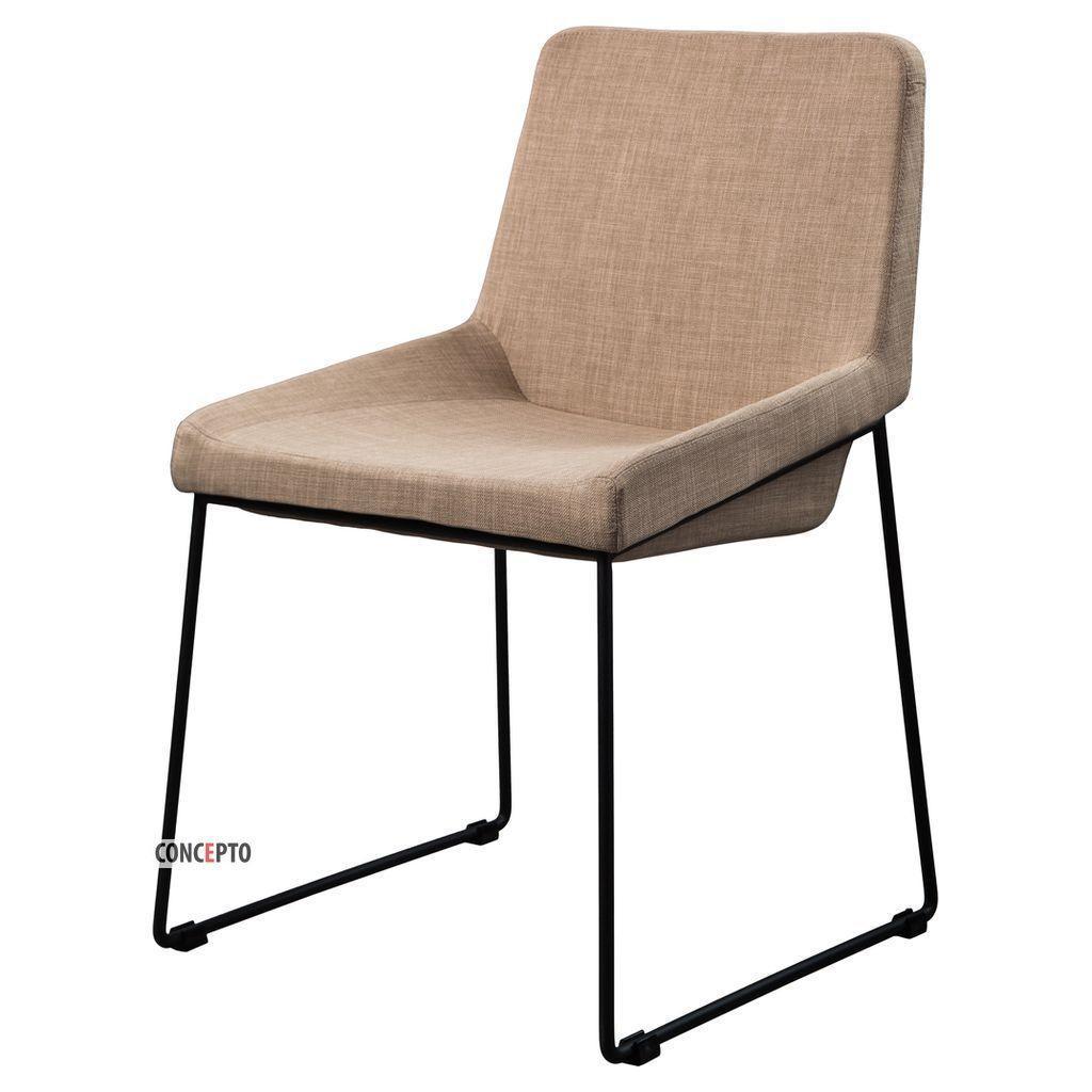Comfy (Комфи) Concepto стул обеденный текстиль пепельно-бежевый