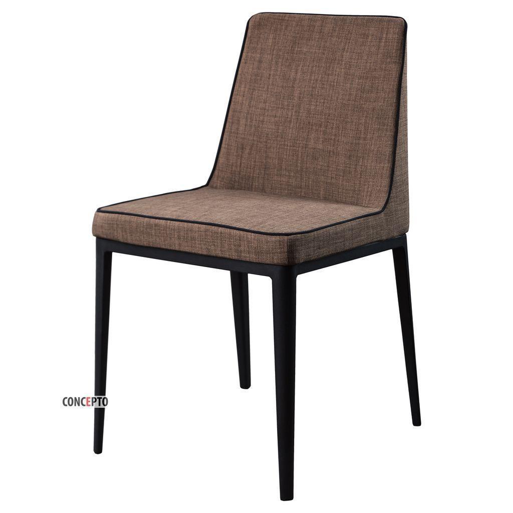Gentleman (Джентльмен) Concepto стул мягкий пепельно-коричневый