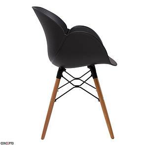 Friend (Френд) Concepto кресло пластиковое чёрное, фото 2