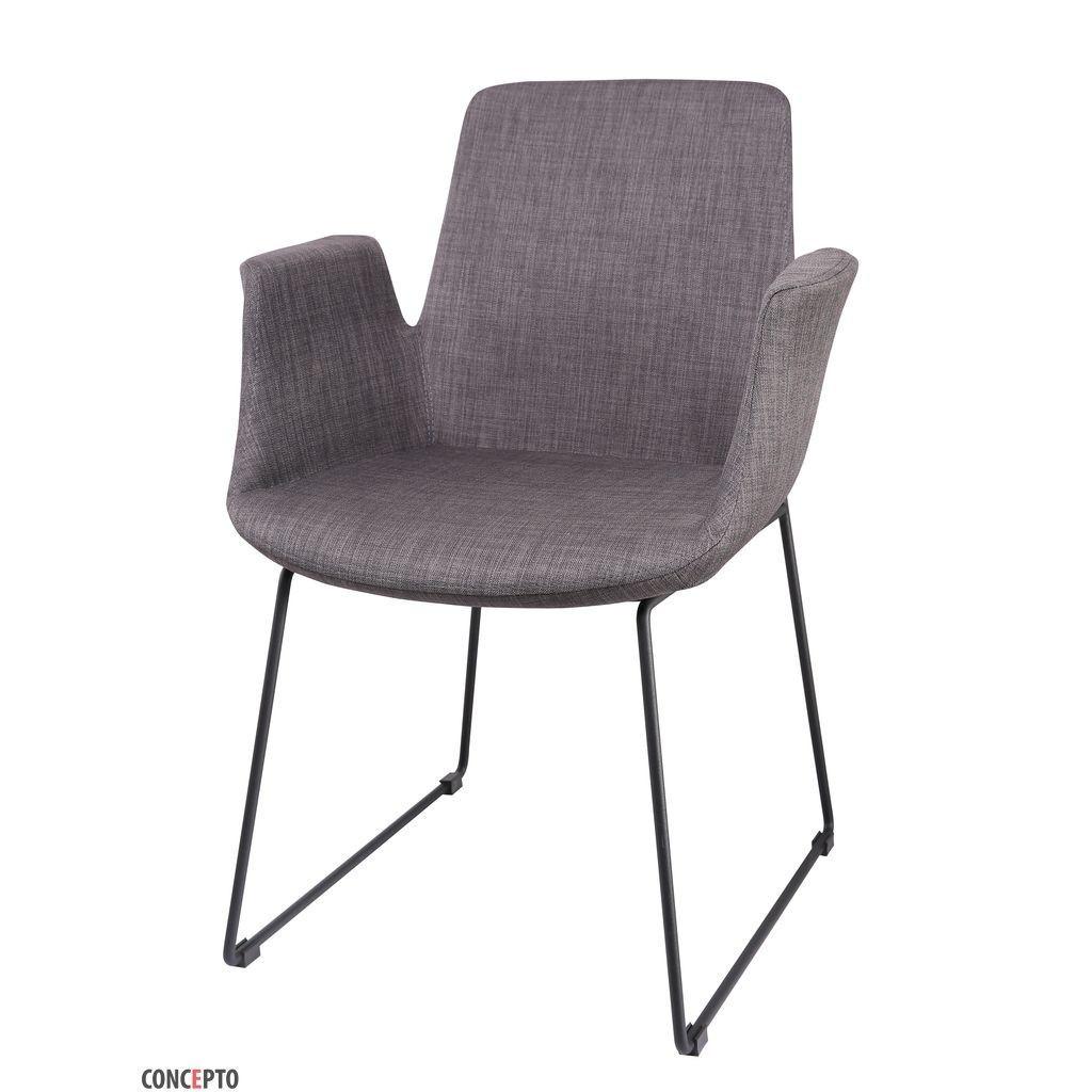 Ostin (Остин) Concepto кресло мягкое тёмно-серое
