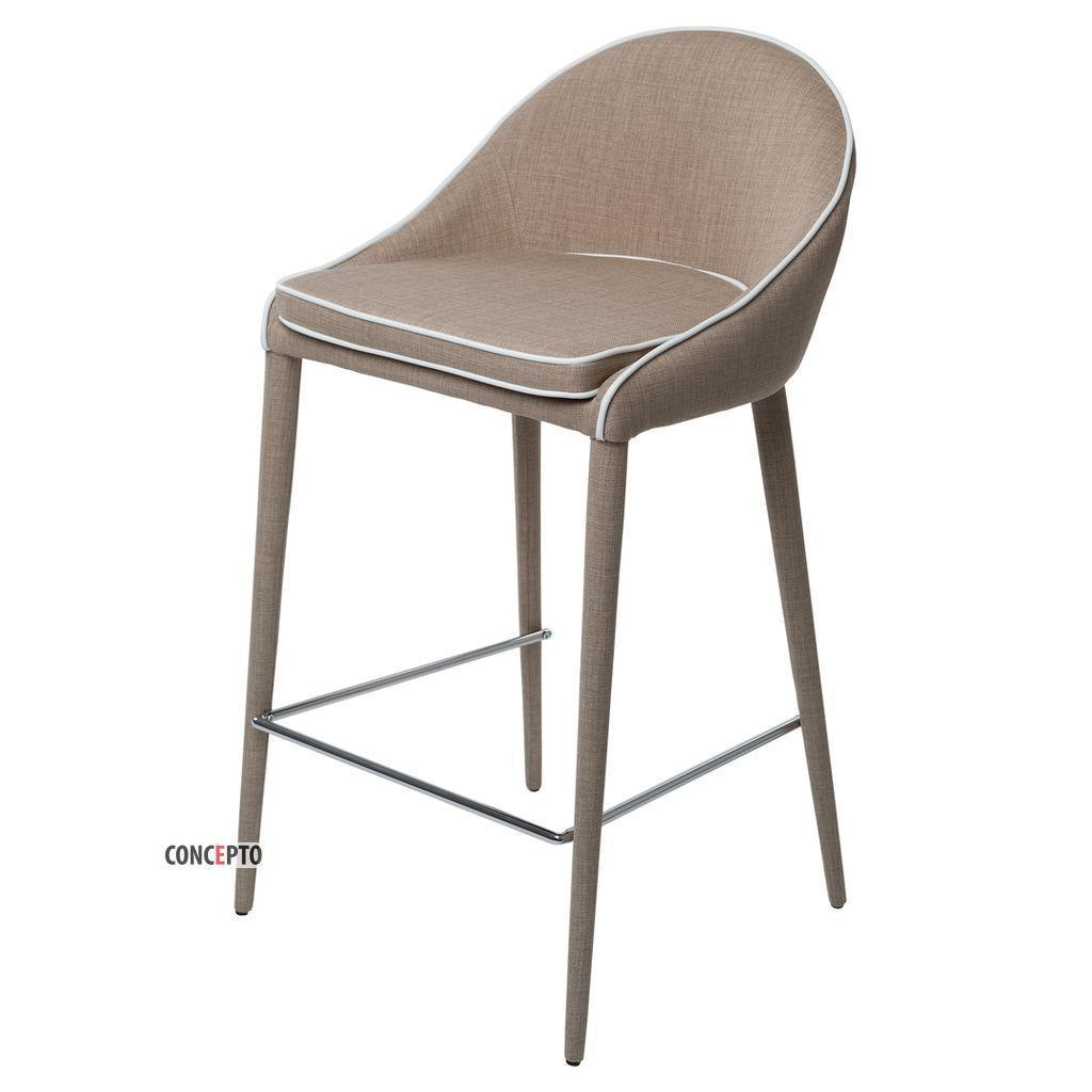 Shariz (Шариз) Concepto полубарный стул мягкий тёплый бежевый