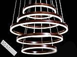 Современная светодиодная люстра, 155W, фото 2
