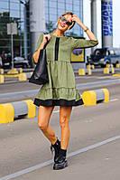 Платье замшевое в расцветках 40801, фото 1