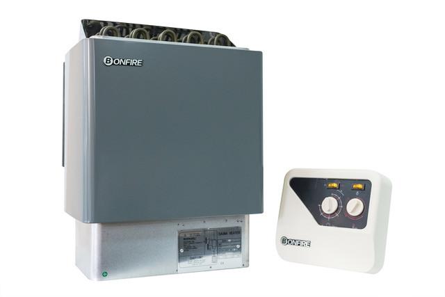 Электрическая печь для сауны Bonfire SCA-90W с пультом управления