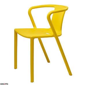 Space (Спейс) Concepto cтул пластиковый жёлтый, фото 2