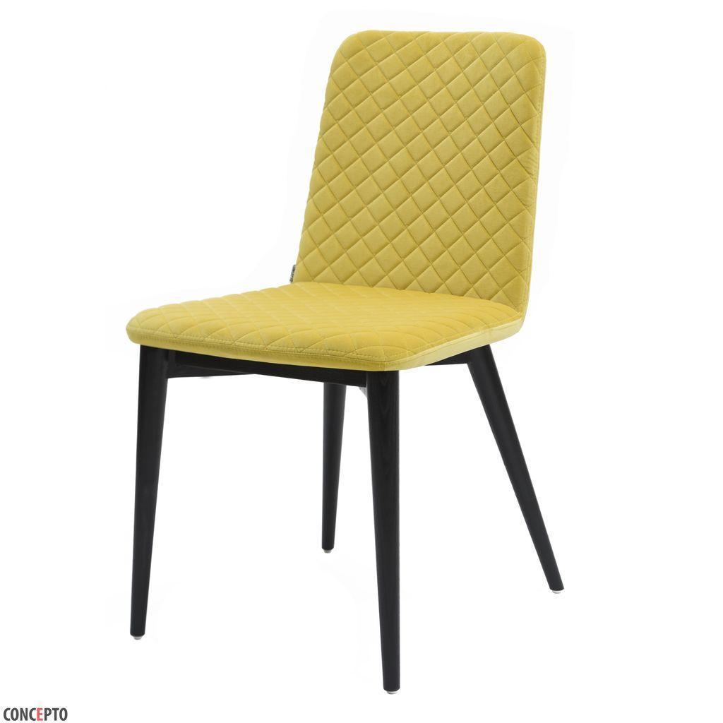 Stella (Стелла) Concepto стул мягкий жёлтый лимон
