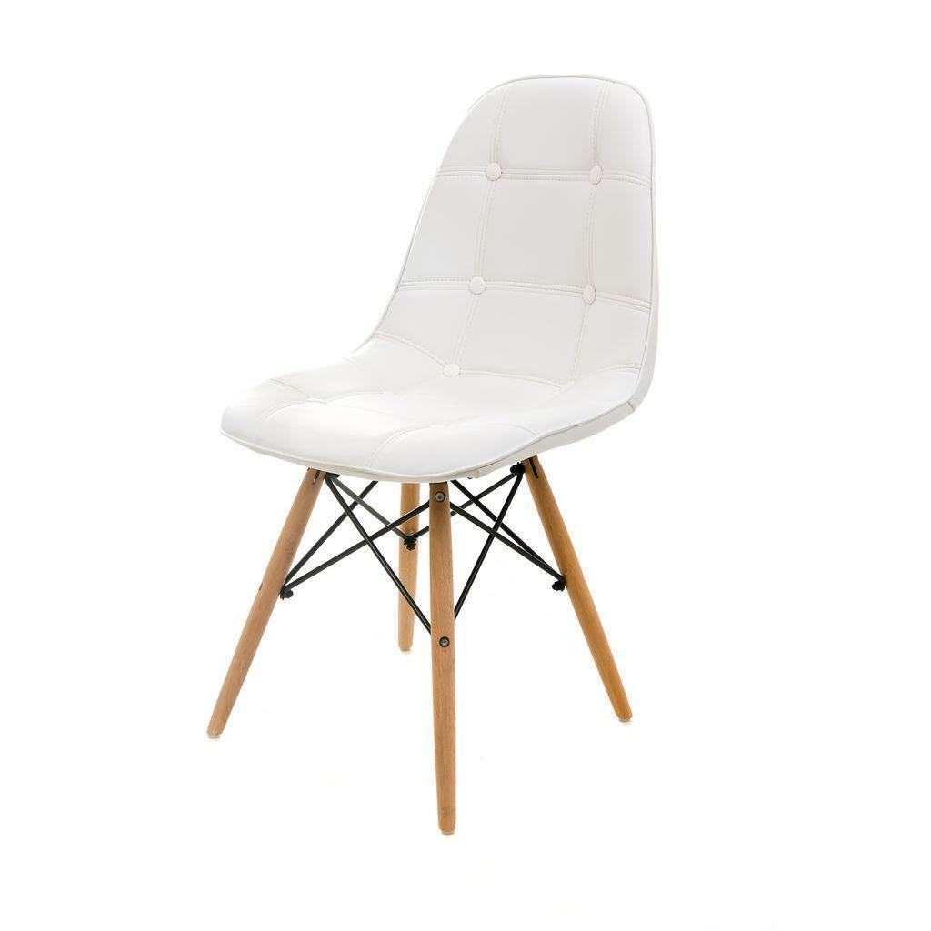 Alma (Альма) стул кожзам белый