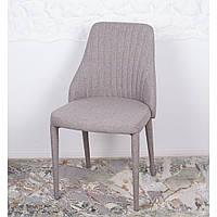 Alicante (Аликанте) стул мягкий светло-серый, фото 1