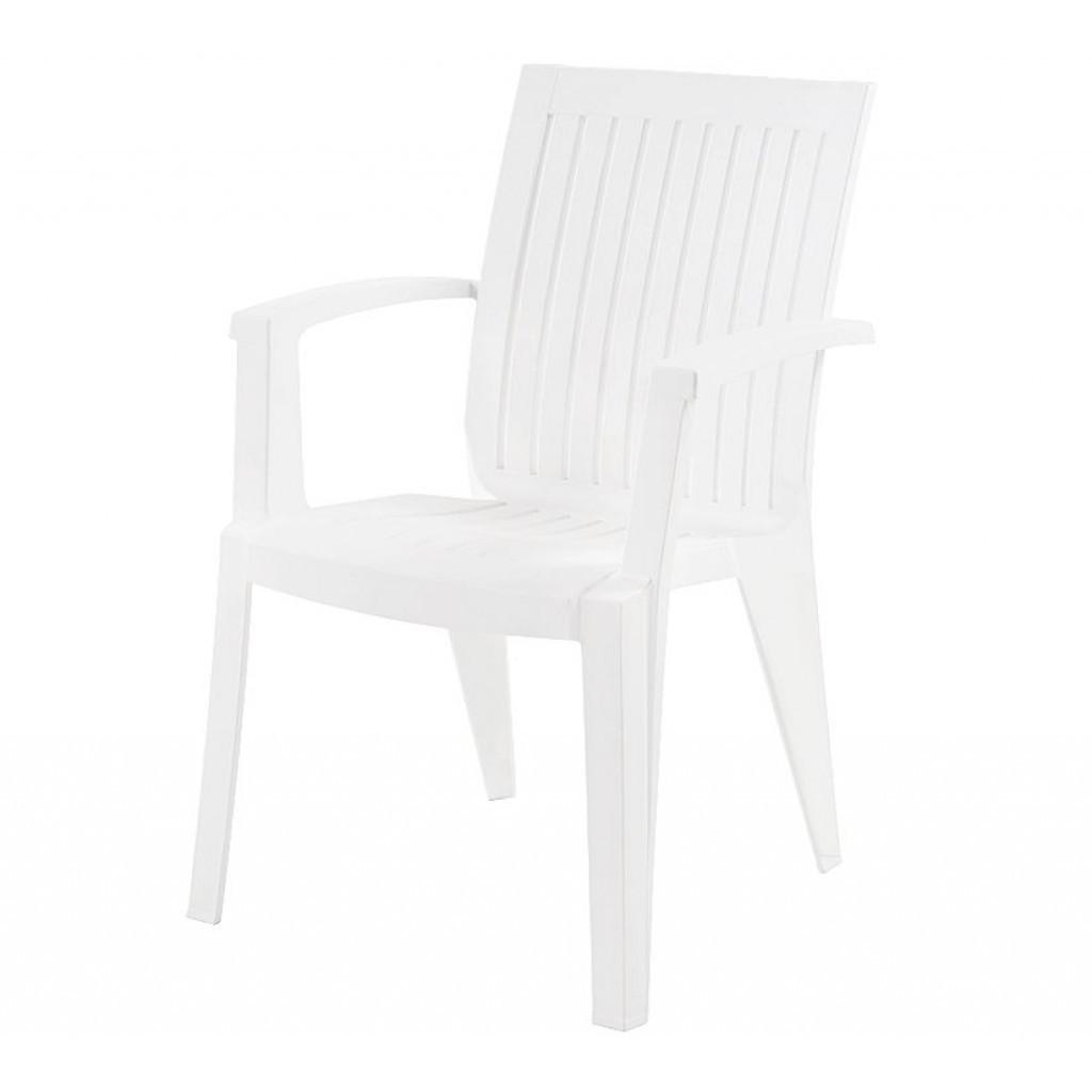 Alize (Ализе) кресло пластиковое белое