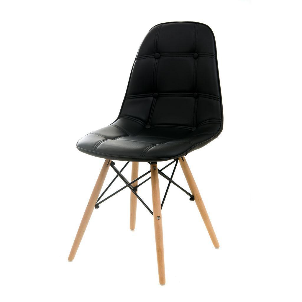 Alma (Альма) стул кожзам чёрный
