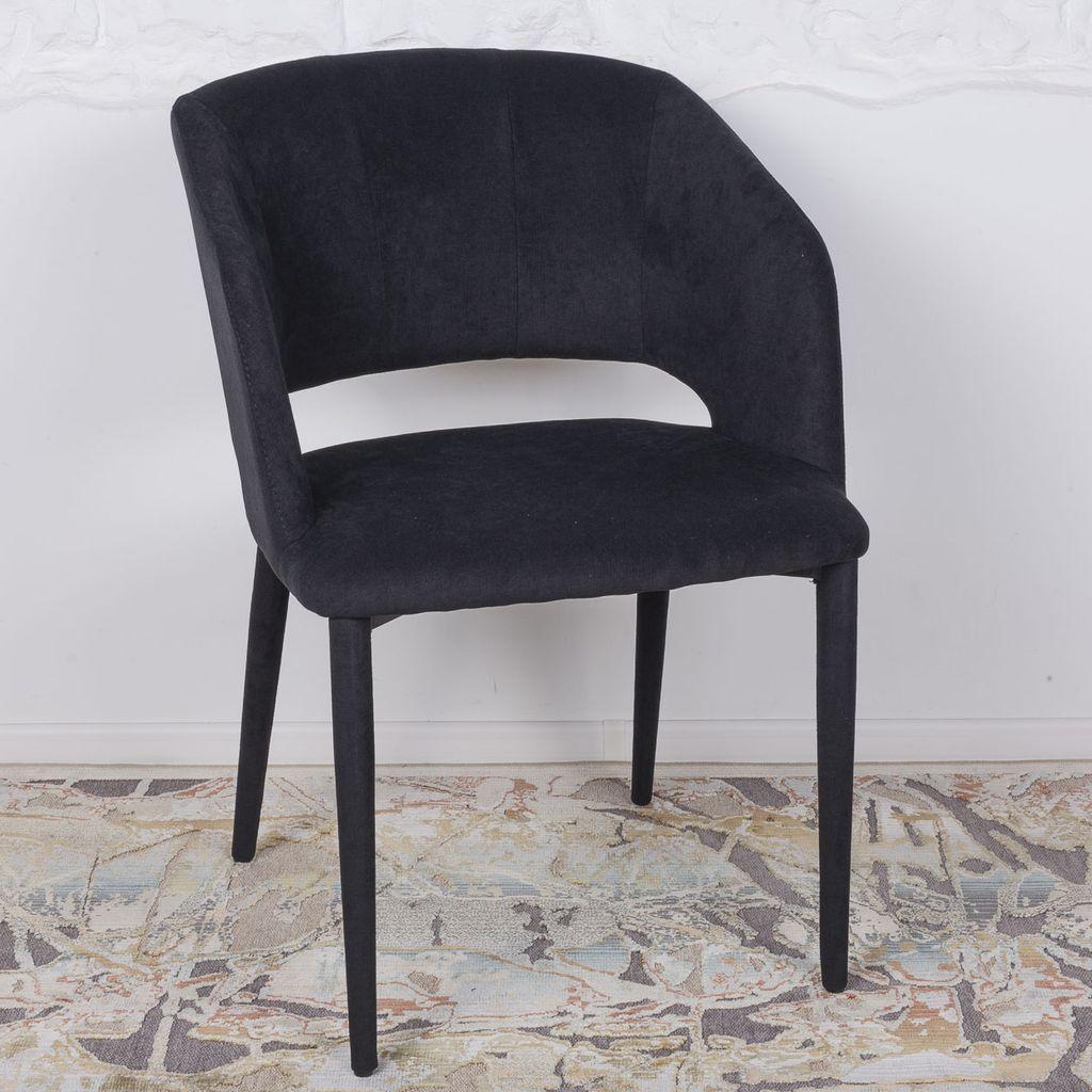 Andorra (Андорра) стул текстиль чёрный