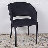 Andorra (Андорра) стул текстиль чёрный, фото 1
