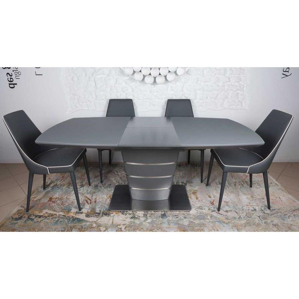 Atlanta (Атланта) стол раскладной 140-180 см графит