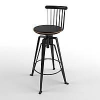 Antelope Black Back (Антилопа Блэк Бэк) стул барный чёрный