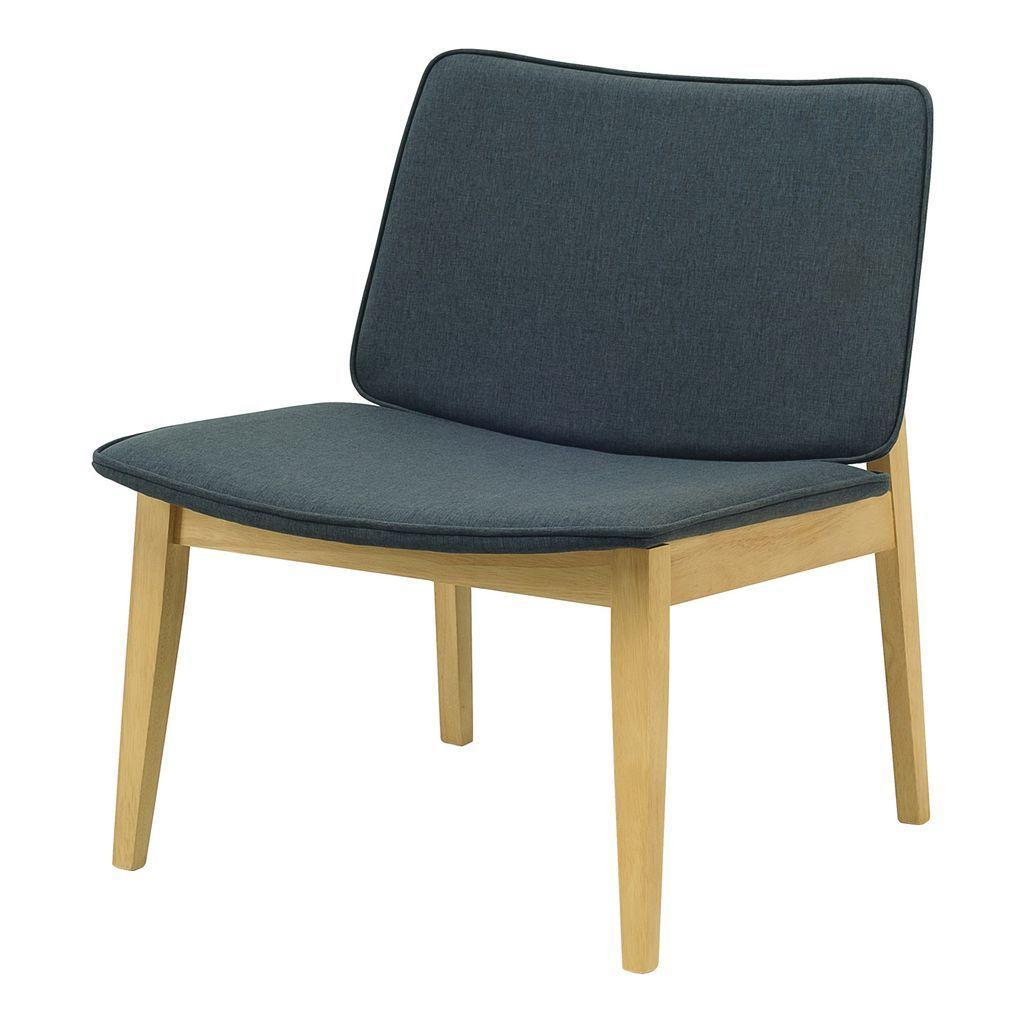 Batley Lounge (Бэтли Лаунж) стул текстиль тёмно-серый