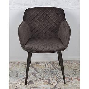 Bavaria (Бавария) кресло велюр антрацит, фото 2