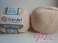 Пряжа ЯрнАрт Силк Вул (YarnArt Silky Wool ) №341