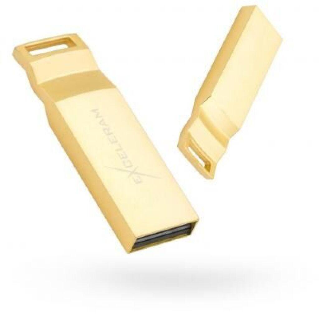 USB флеш накопитель eXceleram 32GB U2 Series Gold USB 2.0 (EXP2U2U2G32)