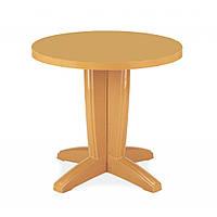 Bravo (Браво) стол пластиковый круглый 80 см тик