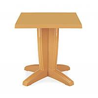 Bravo (Браво) стол пластиковый квадратный 70 см тик